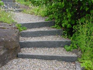 eine etwas andere Steintreppe